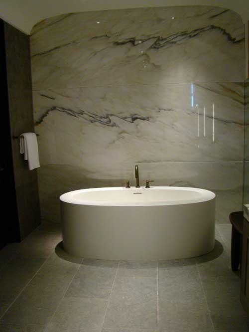 beautiful marble bathrooms   Beautiful Bathroom Design with Marble Backsplash Ideas Marble ... .#baños #bathroom #design http://jrsink.es