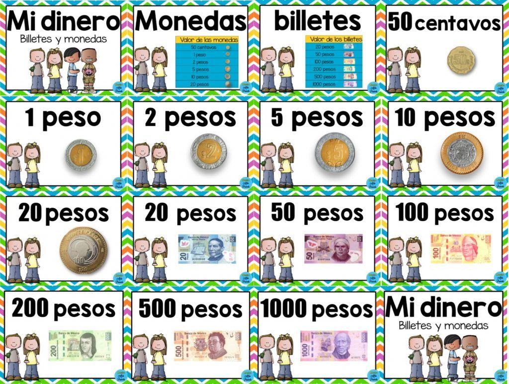 Resultado De Imagen Para Como Enseñar El Valor De Las Monedas En Preescolar Monedas Preescolar Actividades Para Preescolar