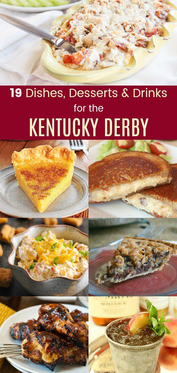 19 Delightful Dishes, Desserts & Drinks for the Kentucky Derby