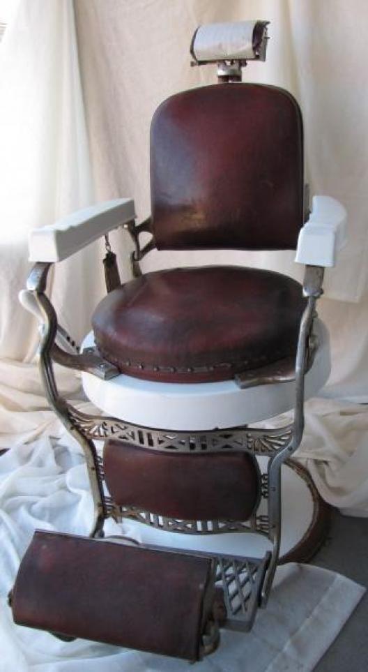 Antique Barber Chair Koken Instappraisal Barber