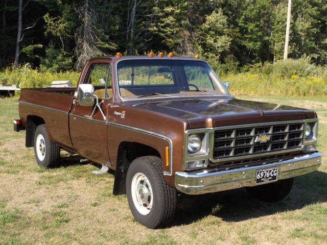 1979 Chevrolet Ck 20 Cheyenne Camper Special 4x4 Low Miles Chevy Pickup Trucks Chevrolet Chevy Trucks