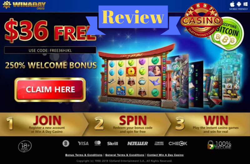 Winaday Casino Review 2020 No Deposit Casino Bonus Codes