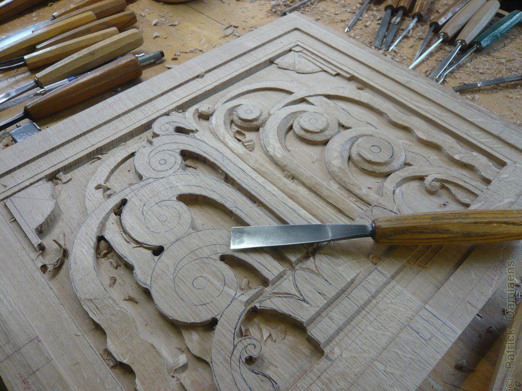 Ornamental woodcarver patrick damiaens art deco style ornaments