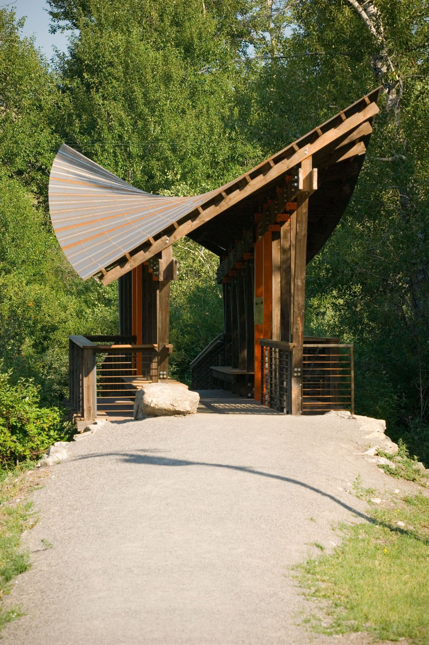 Kevin Mundy Memorial Bridge In Bozeman Montana Drinking