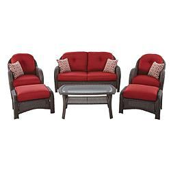 La-Z-Boy Outdoor Avondale Conversation Set is the perfect set for lounging in  sc 1 st  Pinterest & La-Z-Boy Outdoor Avondale Conversation Set is the perfect set for ... islam-shia.org