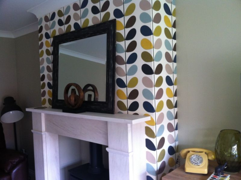 Orla Kiely Wallpaper Multi Stem Seagreen For Harlequin For The
