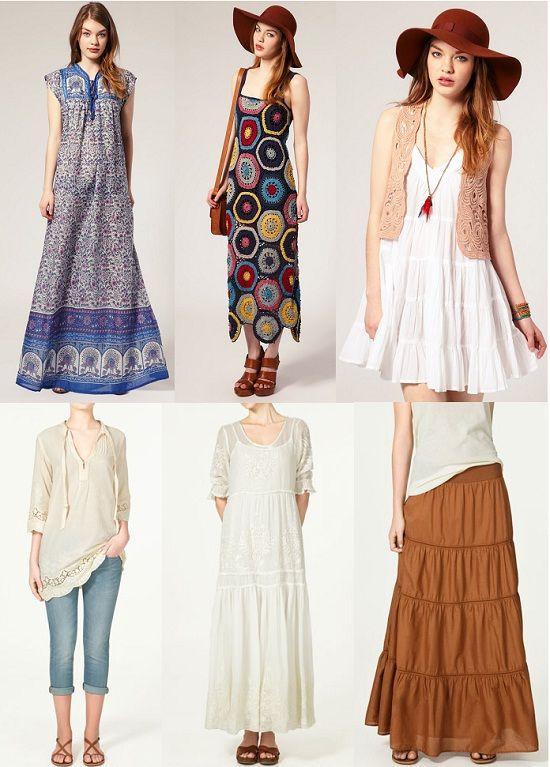 074bed56b4d5 Guía del estilo 'boho chic' | Fashion | Boho outfits, Fashion, Boho ...