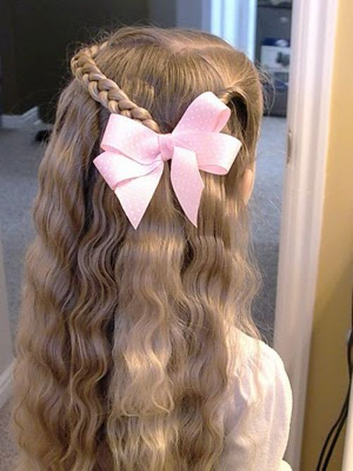 Long Hair Easy Cute Hairstyles For Little Girls 40