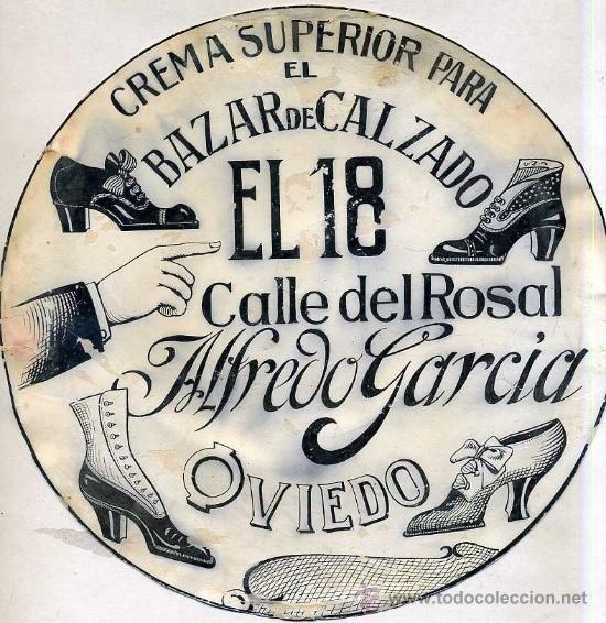 Dibujo Publicitario Original Anos 30 Bazar El 18 Oviedo Bazares Carteles Antiguos Publicitario
