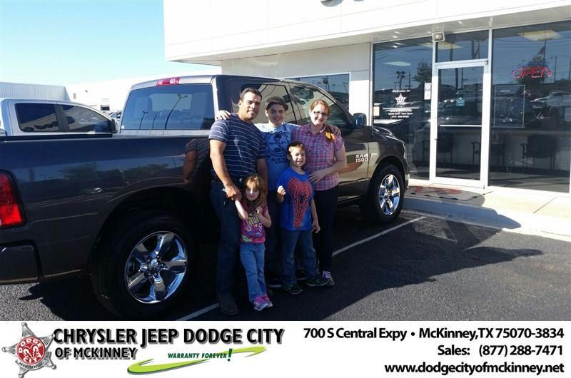 Congratulations To Andre Ravelli On Your Ram 1500 Purchase From Dale Graham At Dodge City Of Mckinney Newcar Dodge City Dodge City