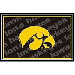 Fanmats Iowa Hawkeyes Rug 5x8