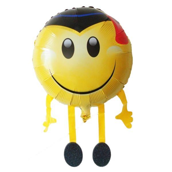 """Ballongruesse Minion Ballon /""""Minion Dave/"""" mit Gas Ballons Luftballon Folienballo"""