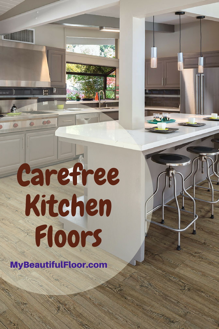 Best Floors For Kitchens Flooring With Images Kitchen Flooring Flooring Vinyl Flooring Kitchen