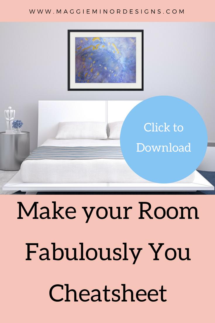 Cheatsheet step by step make your room look like you modern home
