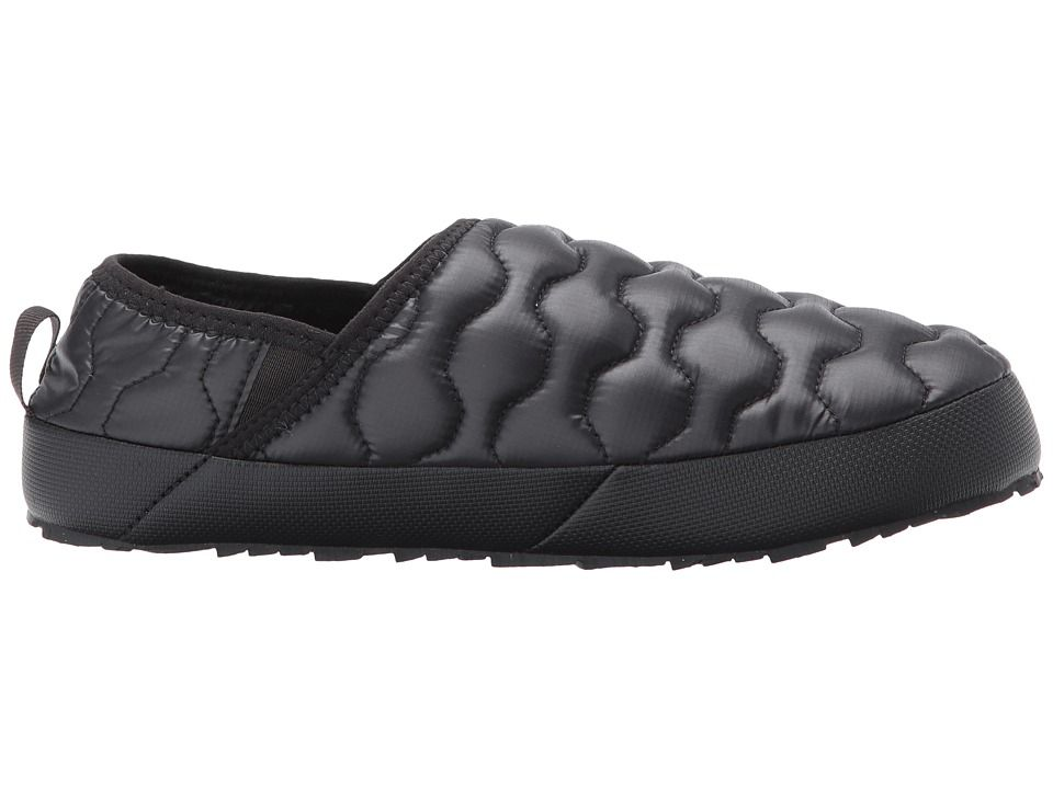 efbc3ab2776 The North Face ThermoBall Traction Mule IV Women s Shoes Shiny TNF  Black Beluga Grey (Past Season)
