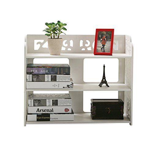 Dline - White Wood&Plastic Bookcase Bookshelf Storage She... http://www.amazon.com/dp/B01C3XQMIU/ref=cm_sw_r_pi_dp_2JKjxb1Y3BFRM