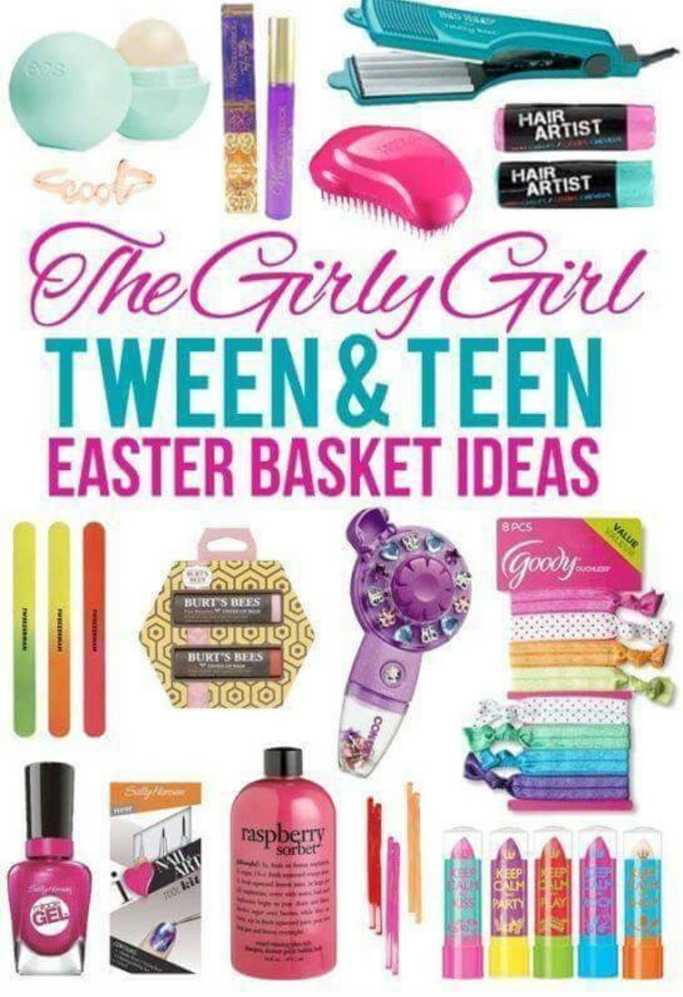 Pin by gina lashawn on easter basket ideas pinterest easter looking for small gift ideas for tween or teen girls are you a mom like me who loves doing christmas stockings but has a harder time finding things as your negle Choice Image