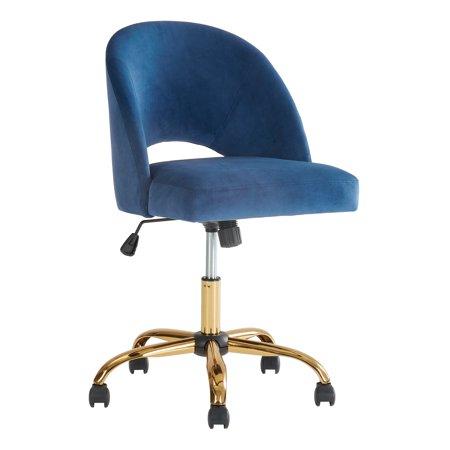 Better Homes Gardens Velvet Office Desk Chair Multiple Colors Walmart Com Office Desk Chair Desk Chair Chair
