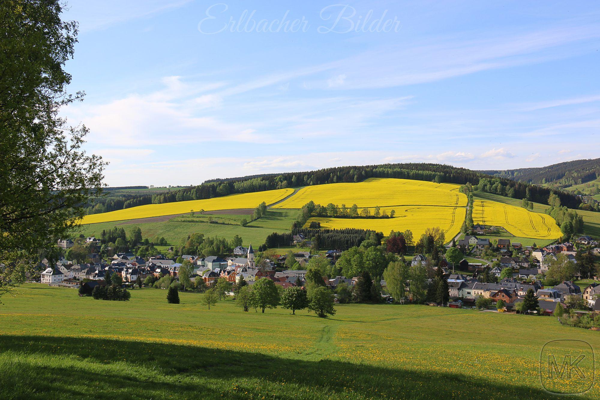 Herrlicher Blick auf #Erlbach #Vogtland #Sachsen #Landschaft