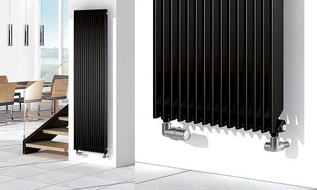 Radiateur chauffage central Chorus Rythmic de Finimetal transparent