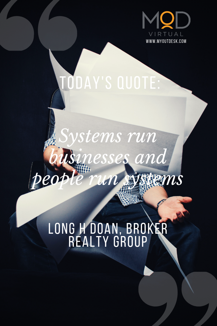 """In Long's business, outsourcing simply works  He says, """"We"""