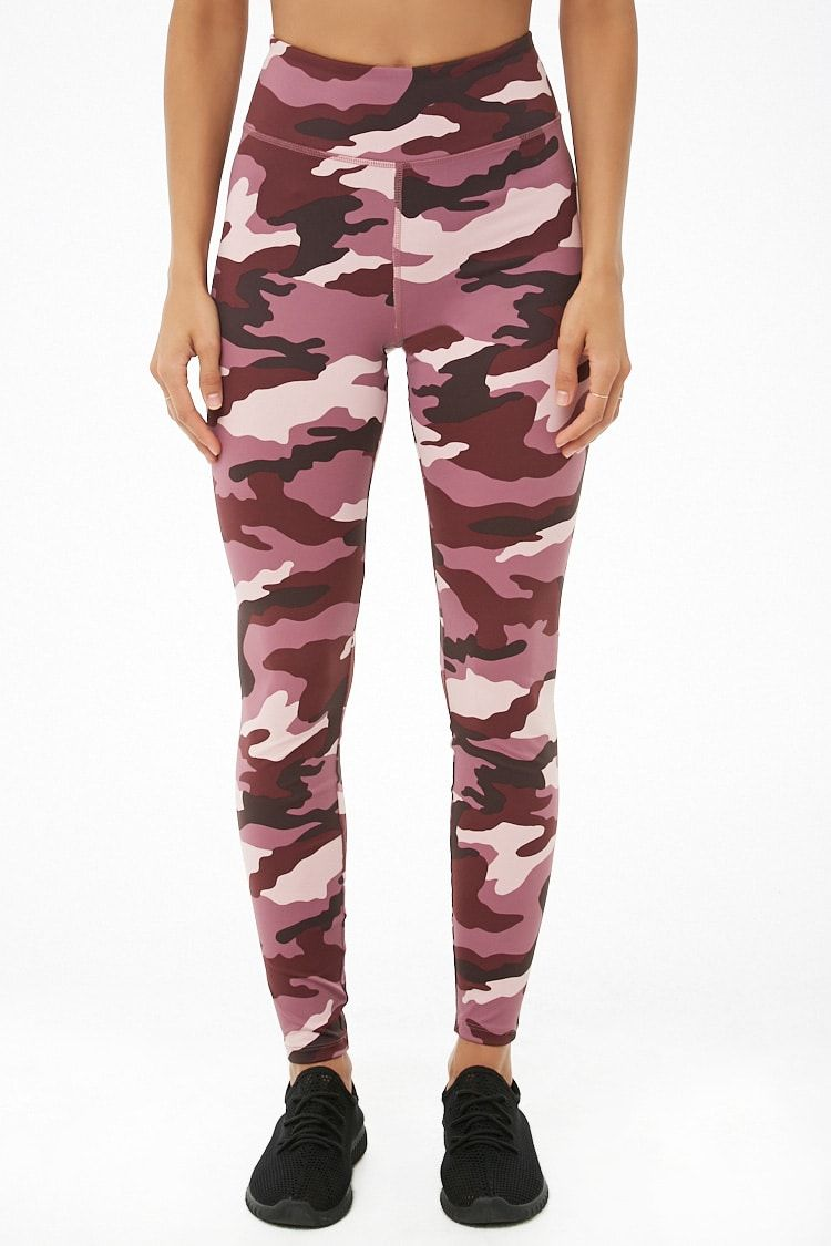 ecb1312834b78 Active Camo Print Leggings in 2019 | Workout Crazy | Camo print ...
