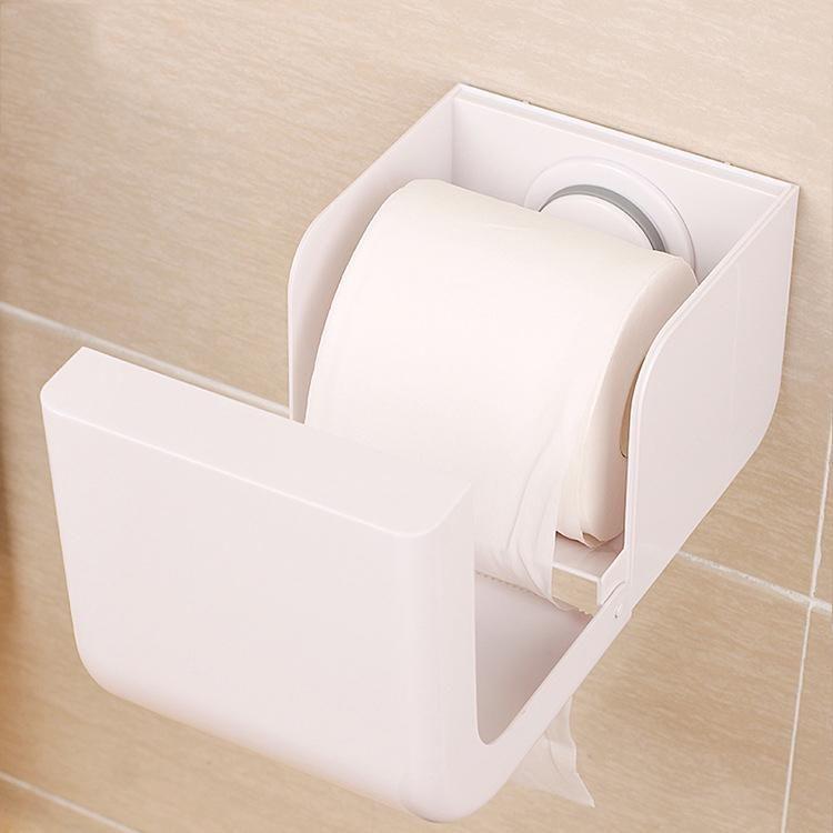 Plastic Seamless Sucker Cup Paper Rack Comprehensive Waterproof