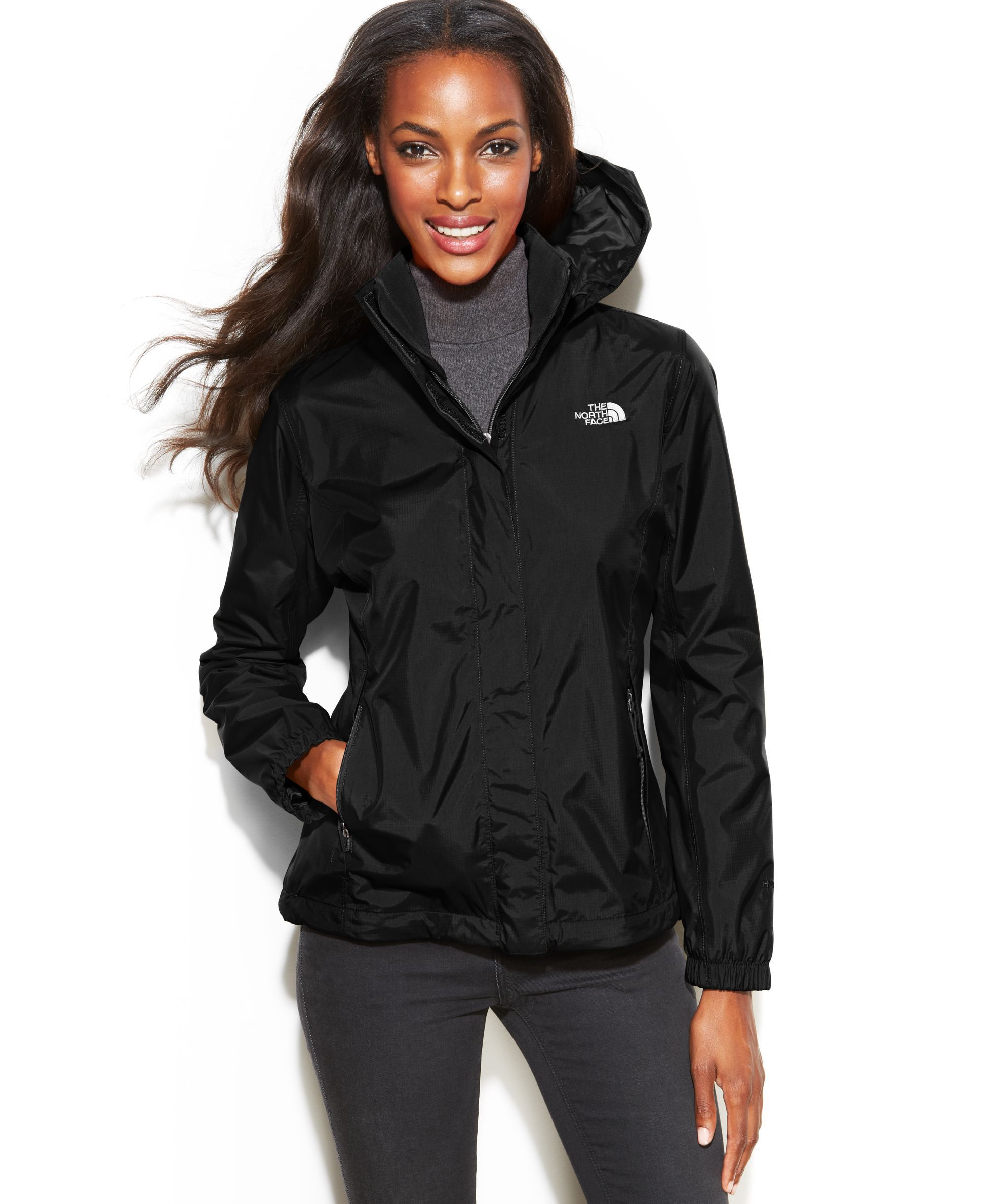 The North Face Resolve Waterproof Jacket Jackets Blazers Women Macy S Waterproof Jacket Blazer Jackets For Women North Face Rain Jacket [ 2378 x 1947 Pixel ]