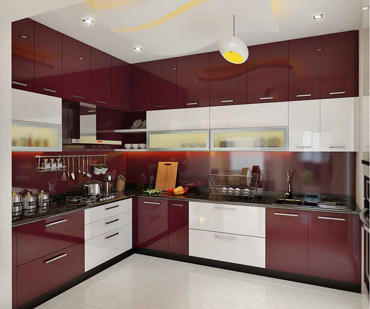 Kitchen Room Design, Interior