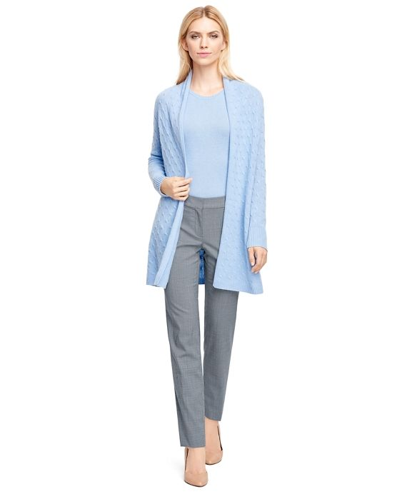 Lucia Fit Wool TrousersMulti