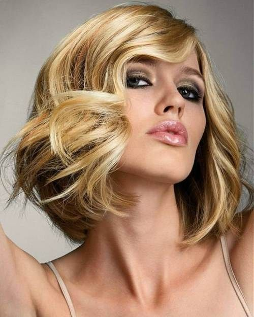 80 Sensational Medium Length Haircuts for Thick Hair | Long bob ...