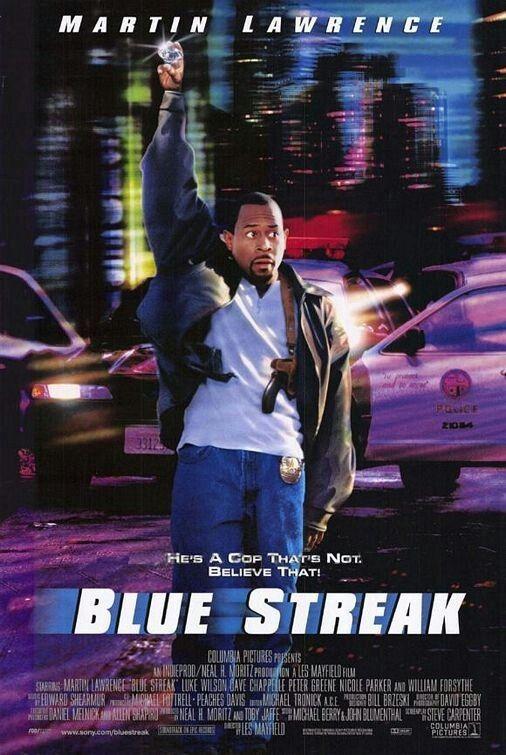Blue Streak Cartazes De Cinema Filmes Filmes Legais