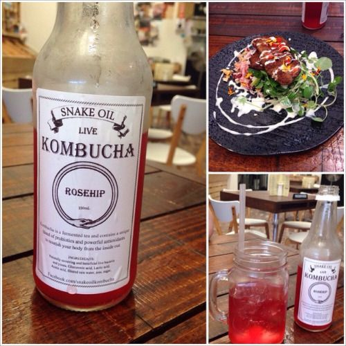 http://ift.tt/16RGZXE  So here are some more photos from my time...       http://ift.tt/16RGZXE   So here are some more photos from my time with @lilmermaida95  at @primalpantry_toowoomba. Have you ever tried kombucha tea? You will be in for a surprise! Ha, ha!  #primalpantry #primalpantrytoowoomba #kombuchatea #glutenfree #lunch #delicious #toowoomba #toowoombadining @yum.glutenfreemagazine #snakeoil #rosehip #probiotic   http://kombuchaguru.tumblr.com/post/111276259561