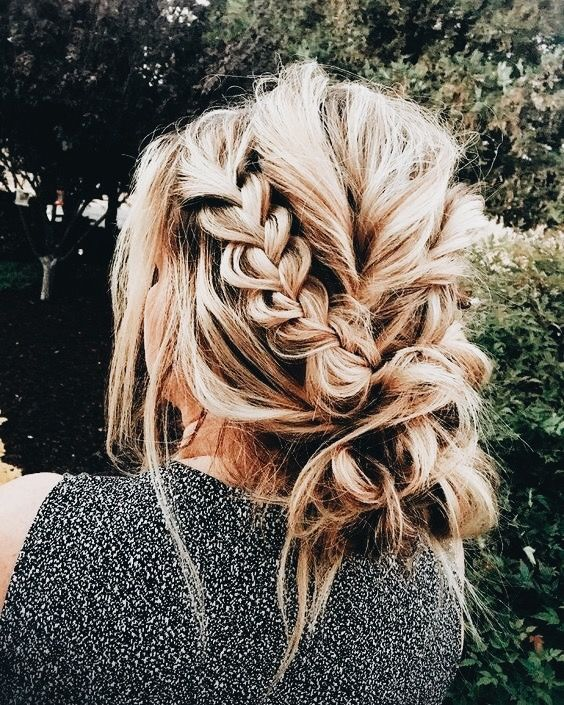 Pin By Cydney Ewing On A Hairy Situation Pinterest Braided Messy