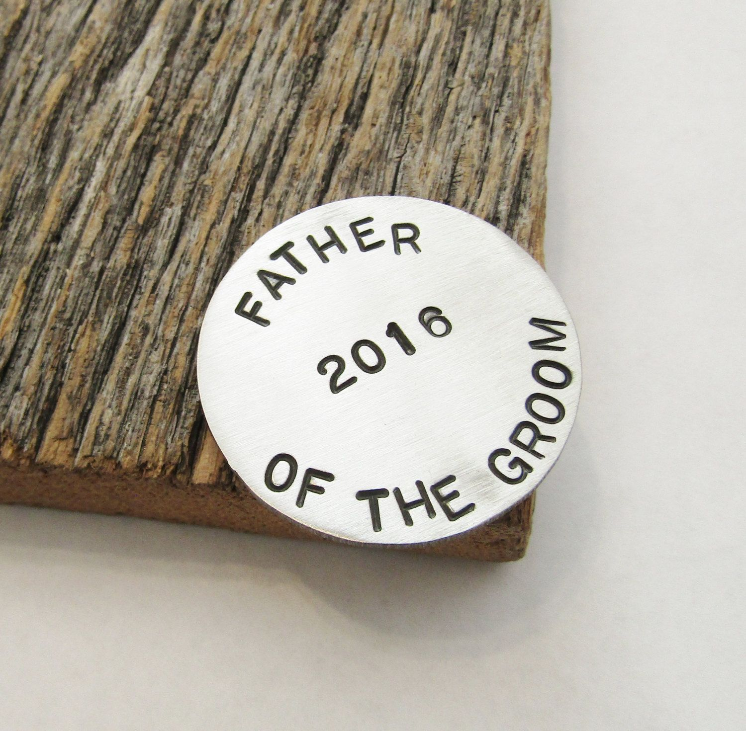 Father of the groom gift golf ball marker grooms dad gift