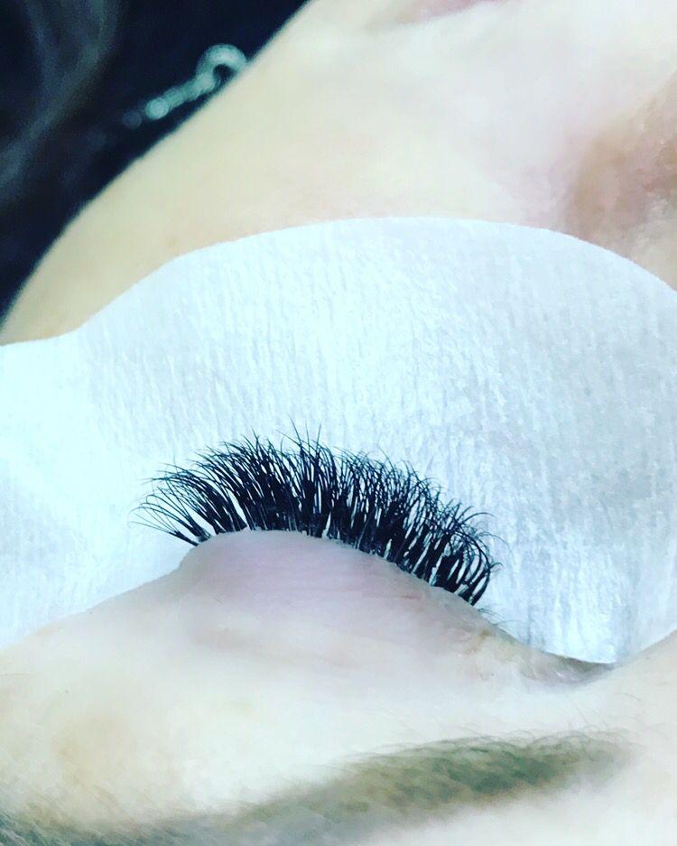 Full set of volume lashes at Blink Volume lashes