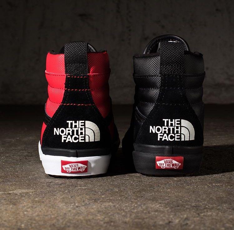 The North Face X Vans SK8 Hi | Zapatillas, Zapatos, Ropa