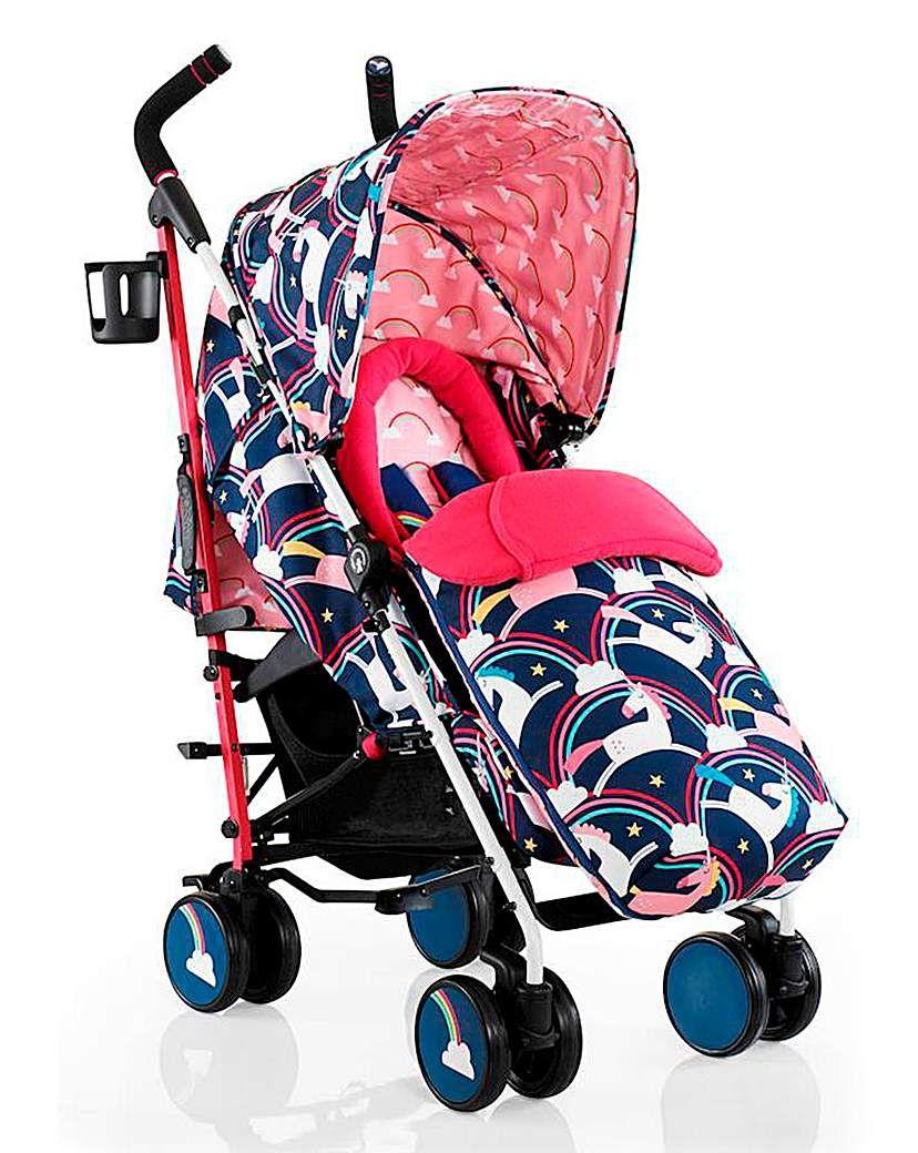 Cosatto Supa Magic Unicorns Stroller Pushchair, Stroller