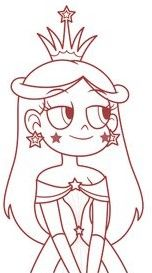 Estelaria The First Star Butterfly Desenhos Para Colorir