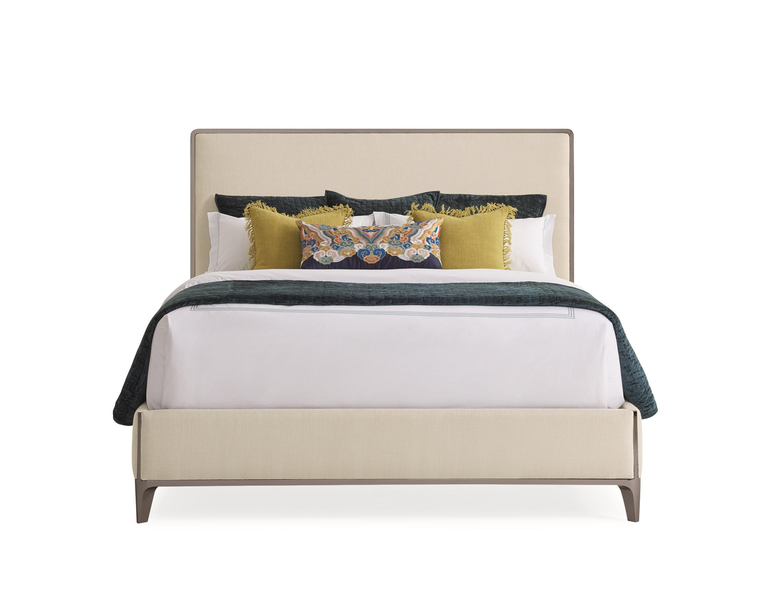 The Contempo King Bed Caracole Bed Elegant Master Bedroom