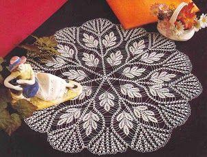 caminos de mesa from Crochet Fantasy