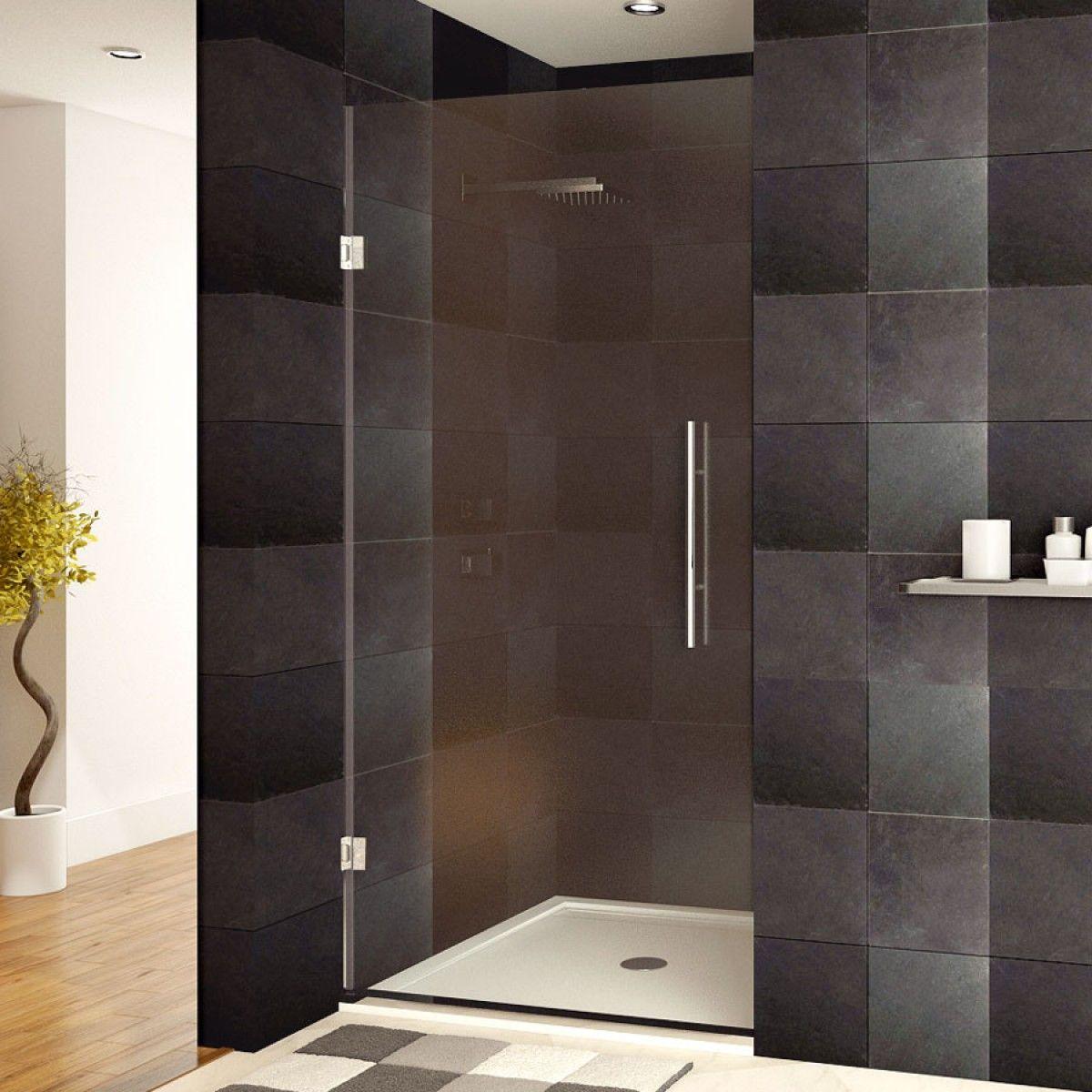 Ultra E 24 X 72 Shower Door Chrome Finish Shower Doors