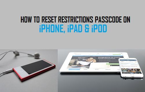 Steps To Reset Restrictions Passcode On Iphone Ipad Or Ipod Without Resorting To A Jailbreak Or Resetting Your Ios Device To Factory Default Ipod Ipad Iphone