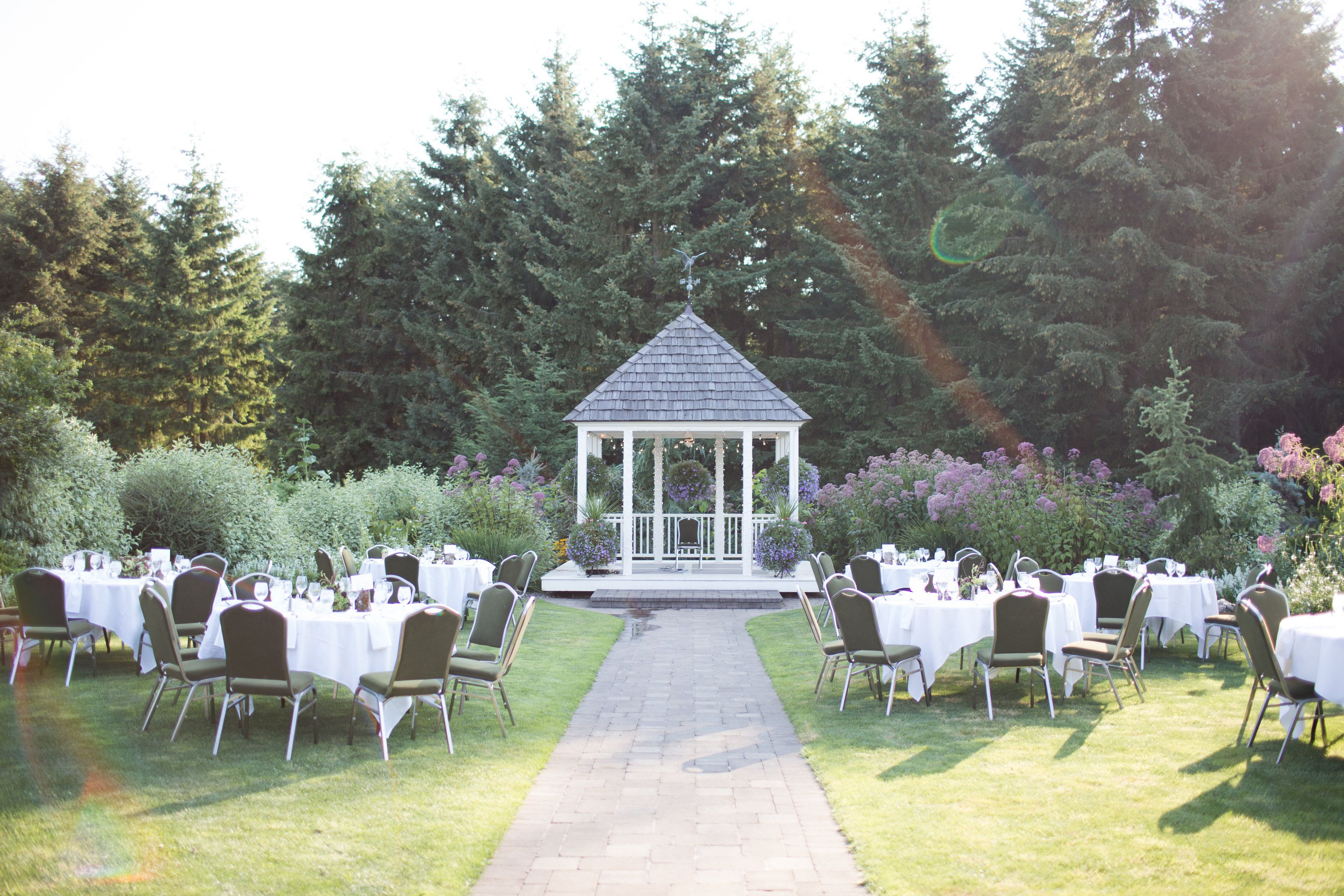 Wedding Garden Oregon Garden Wedding Venues Oregon Resort