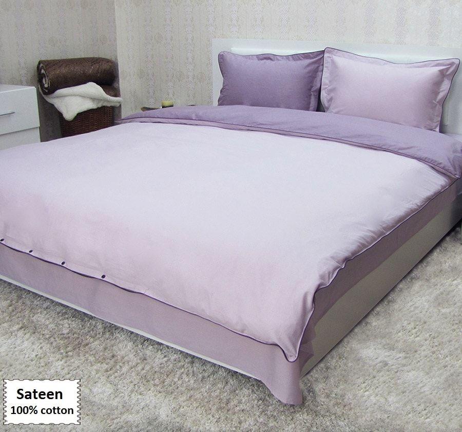 Lilac Duvet Cover Sets Queen Single Size Sa Bedding 4