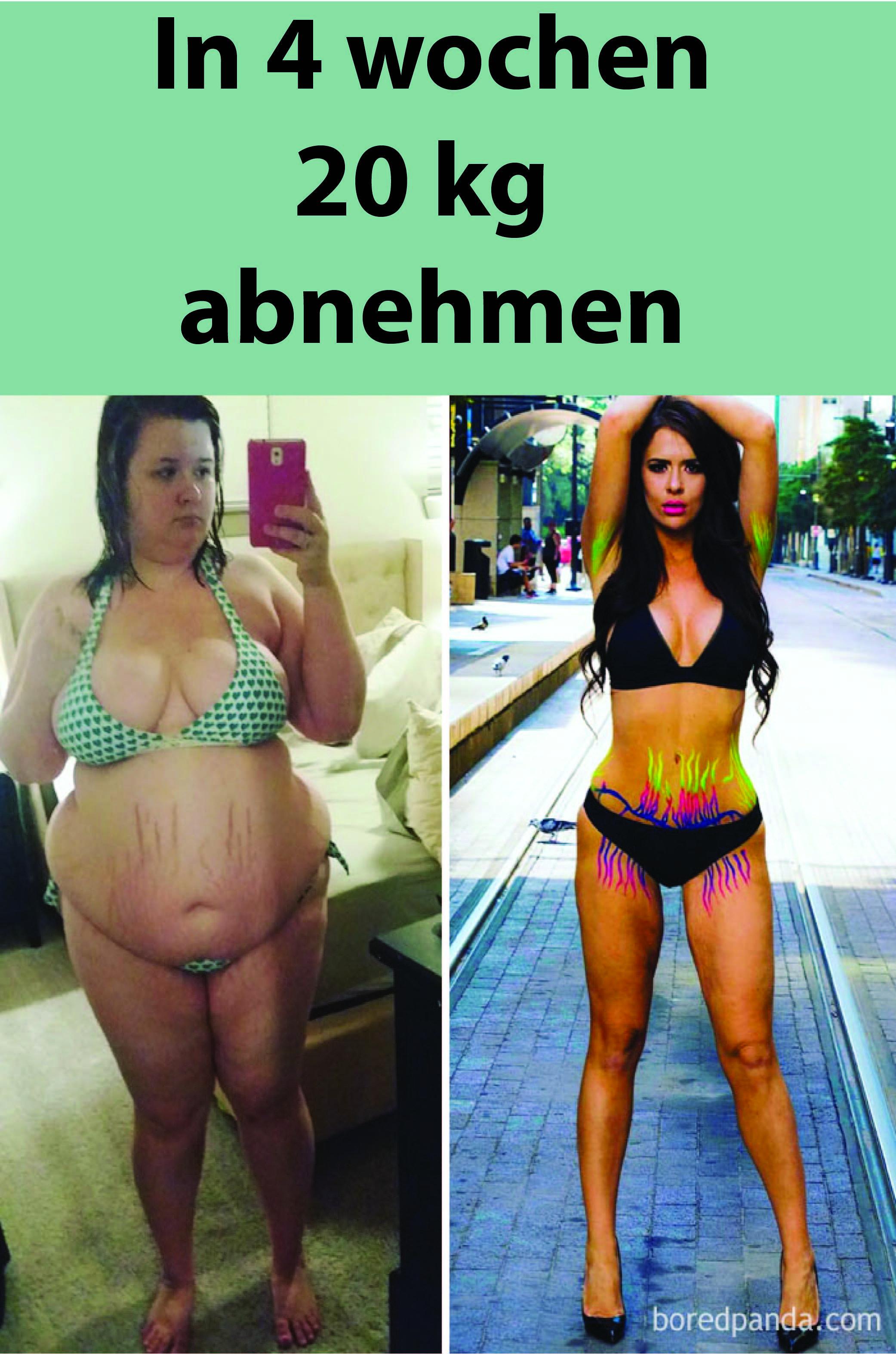 Diät, um Gewicht in einer Woche 20 Kilo zu verlieren