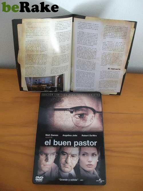 http://mazocomics.berake.com/ - Vendo Cine.el buen pastor. edición coleccionista, caja metálica. el argumento habla del nacimiento de la c.i.a.protagonizda por matt dammon,...