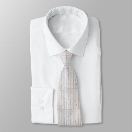 #rustic - #Whitewash Wood tie with custom monogram