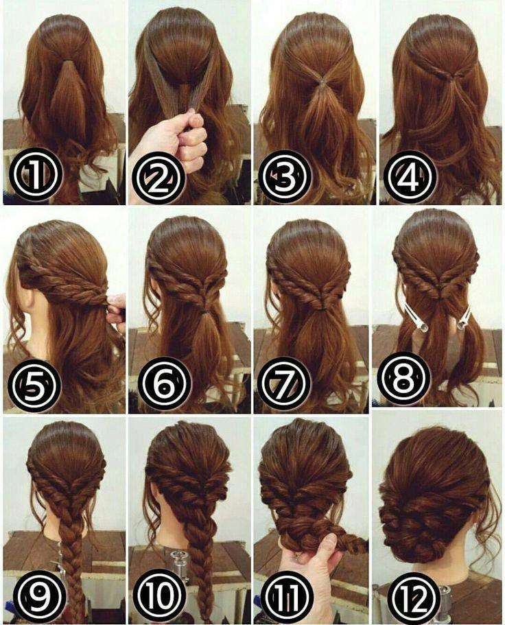 This Step By Step Easy Hairstyles Really Are Fab Stepbystepeasyhairstyles Pinterest Hair Long Hair Styles Medium Hair Styles
