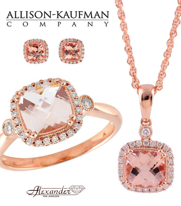 Rose Gold Morganite collection by Allison Kaufman Allison Kaufman